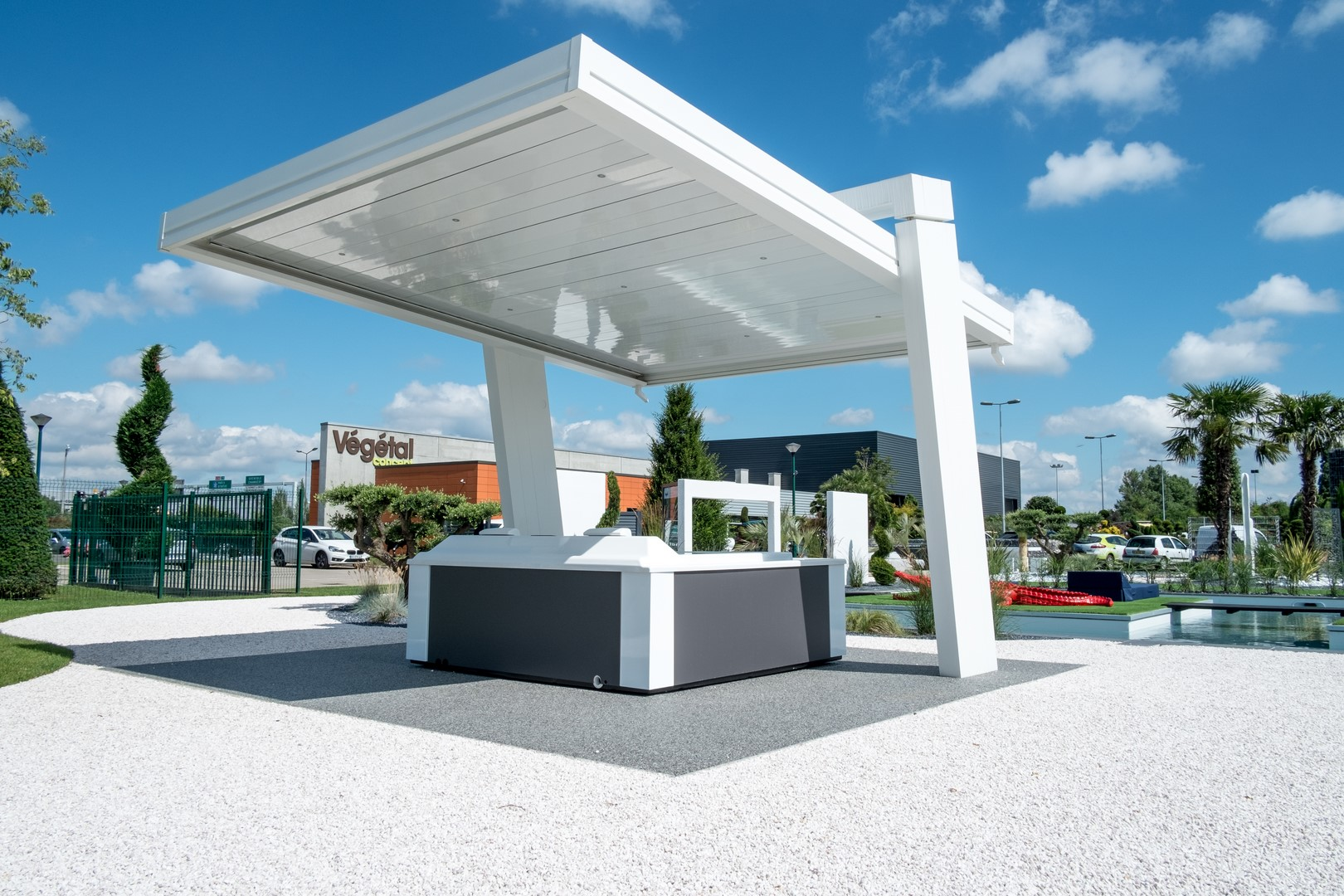 pergolas bioclimatiques chez v g tal concept pergola. Black Bedroom Furniture Sets. Home Design Ideas